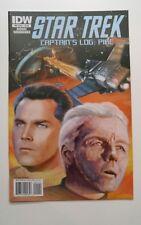 Star Trek Captains Log: Pike Comic Book Idw 2010