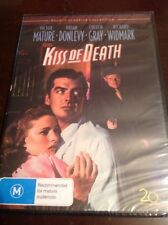 KISS OF DEATH Victor Mature Coleen Grey New & Sealed B&W DVD R4