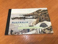 2005 AUSTRALIA PRESTIGE BOOKLET - AUSTRALIA & WAR SP76 FV $12.92