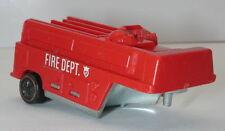 Redline Hotwheels Red 1970 Fire Trailer oc10311