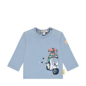 STEIFF Shirt Teddy auf Roller hellblau Gr. 62 - 86  NEU