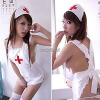 Ladies Sexy Costumes Cosplay Nurse Uniform Lingerie Fancy Dress Outfit Set Party