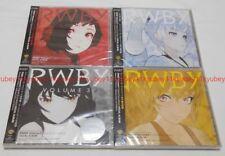 New RWBY VOLUME 1 2 3 4 Original Soundtrack VOCAL ALBUM Set CD Japan 1000693720