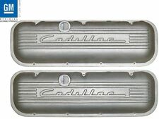 Chevrolet 396 427 454 502 Big Block Tall Valve Covers Raised Cadillac Logo PML