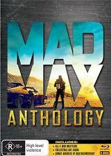 Mad Max Anthology (Blu-ray, 2015, 4-Disc Set)