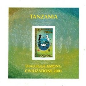 Tanzania - Scott 2202 - UN Dialogue Among Civilizations - Souvenir Sheet - MNH