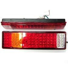 Led Rear Tail Lights Fits Scania Mercedes Man Daf Ranault Volvo Iveco 24v x2