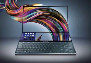 ASUS ZENBOOK PRO DUO 15.6 4K I7-9750H 16GB 1TB SSD RTX 2060 UX581GV-XB74T
