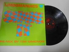 "LP Hiphop Limbomaniacs - Shake It 12"" (6 Song) IN-EFFEKT REC / USA"
