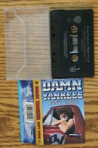 Damn Yankees - Don't Tread Cassette Free Shipping In Canada