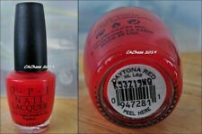 Opi Nail Polish - Discontinued Color Daytona Red Lacquer New Bottle