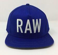 018b3e08904d7 G-STAR RAW MEN'S AUTHENTIC ORIGINAL NAVY BLUE SNAPBACK BASEBALL STYLE CAP -  NWT