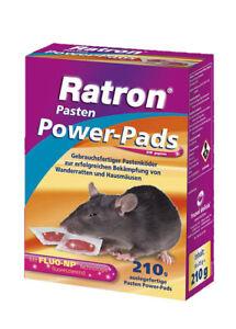 Frunol Ratron Power Pads 210 g = 14 x 15 g Rattenköder Rattengift