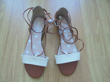 BODEN  TAN AND GOLD COLOUR SIENNA  SANDALS SIZE 40==SIZE 6.5 BNWOB