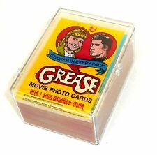 1978 Vintage TOPPS Trading Card & Stickers ~ GREASE ~ Series 1 ~ Full Set