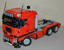 NEW LEGO TECHNIC RED 8258 V6 MOC/CUSTOM TRUCK over 14 inches long