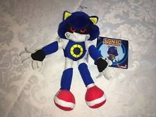 "OFFICIAL NEW EDITION METAL SONIC THE HEDGEHOG 8"" SOFT TOY PLUSH NEW TAGS"