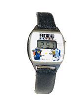 Vintage Bradley Robo Force Robot Character Lcd Quartz Wrist Watch NOS(1654M)
