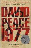 "DAVID PEACE NOVEL - ""1977"" - CHAPELTOWN, LEEDS - YORKSHIRE RIPPER - PB (2008)"