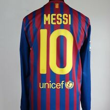 Barcelona Home Football Shirt Adult Medium MESSI #10 2011/2012 Long Sleeves L/S