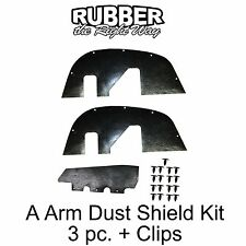 1996 1997 1998 1999 2000 Chevy GMC Truck A Arm Dust Shields K Series 1/2-3/4 Ton