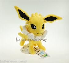 """New Pokemon Center Jolteon Cute Pokedoll Soft Stuffed Plush Doll Toy 15cm 6"""""""