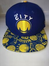 RARE New Era 9Fitfy THE CITY Golden State Warriors Snapback Hat Stitched NBA