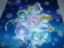 RARE Sailor moon Prism Stars Sparkling Glitter Shinny File Folder Holder # 4