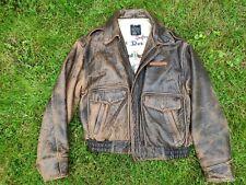 Flight jacket Avirex Brown Size L (more like XL)