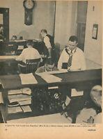 1956 Western Pacific Railroad Life of a Train Dispatcher Railway Work Crew WP