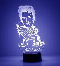 Elvis Presley LED Night Light, with Remote Control, Light Up Elvis Sign