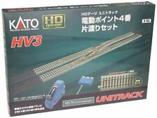 KATO Products HV3 UNITRACK Interchange Track Set with #4 Electric Turnouts