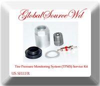 1 Kit 20004 TPMS Sensor Service Kit Fits: Buick Cadillac Chevrolet GMC Saab &