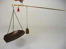 handwork old copper usable Chinese scales with 2 different measurement