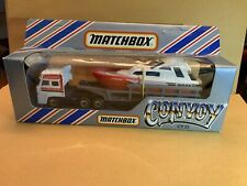 Matchbox Convoy CY-22 Powerlaunch Transporter DAF Cab With Box