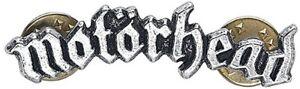 Motorhead Logo Shaped Pin Badge    (ro)