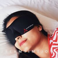 LUXURY EYE MASK/SLEEP MASK MEN WOMEN TRAVEL YOGA MEDITATION REST BLOCKOUT LIGHTS