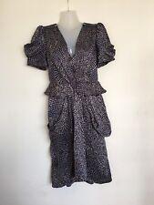 Whistles Dress 100% Silk Uk 8