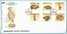 Zimabawe 1996 FDC Wood Carvings 15 Oct