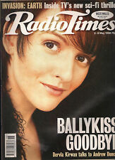 RADIO TIMES 1998 BALLYKISSANGEL COVER DERVLA KIRWAN LILY SAVAGE ALEXEI SAYLE
