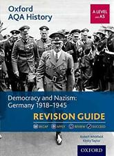 More details for oxford aqa history for a level: democracy and nazism: germany 1918-1945 revisio