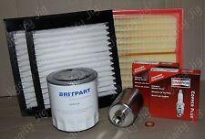 Air Oil Fuel Pollen Filter Spark Plug Service Kit Fit Range Rover P38 V8 1997-99