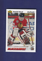 Dominik Hasek RC 1991-92 Upper Deck Hockey #335 (MINT)