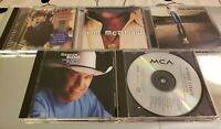 Tim McGraw George Strait Country Music CDs Lot of 5