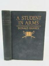 Donald Hankey A STUDENT IN ARMS 1917 E. P. Dutton, NY World War 1 WWI Memoir