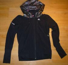 Adidas hoodie Jacket  climalite womens  Sz-8-10  S   100% authentic