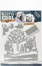 Stanzschablone Winterlandschaft - Cool Forest - Amy Design