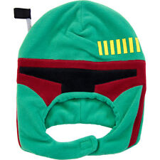 OFFICIAL STAR WARS BOBA FETT BOUNTY HUNTER COSTUME BEANIE HAT *NEW*