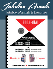 Rock-Ola Models 1488, 1495 & Models 1496, 1497 Service & Parts Manual RockOla