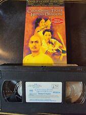 New listing Crouching Tiger, Hidden Dragon (Vhs, 2001, English Subtitled) *Buy 2 Get 1 Free*